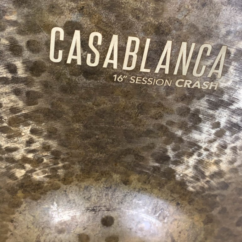 "CymbalWorks Casablanca 16"" Session Crash - CymbalONE"