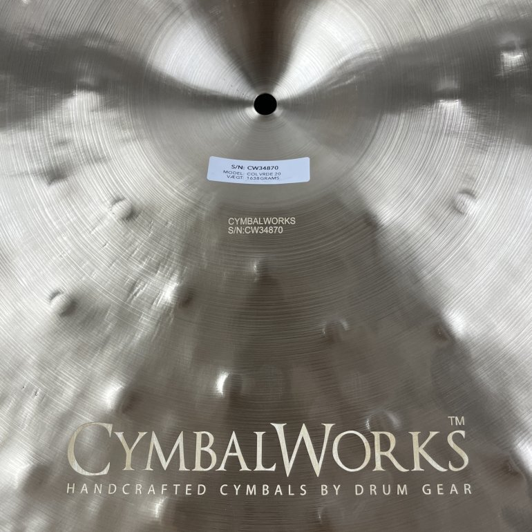"CymbalWorks Collectables 20"" Vintage Crash - CymbalONE"