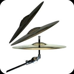 Cymbal Crown til baekken